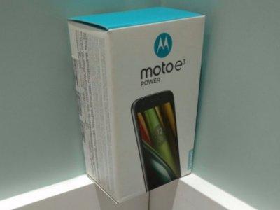 Moto E3 Power presume de una enorme batería de 3,500 mAh para máxima autonomía