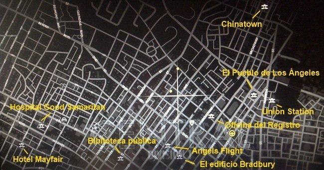 Zona Central (norte) en L.A. Noire