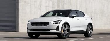 Polestar 2: un sedán fastback de 400 hp y autonomía de 500 km con sed de derrocar al Tesla Model 3
