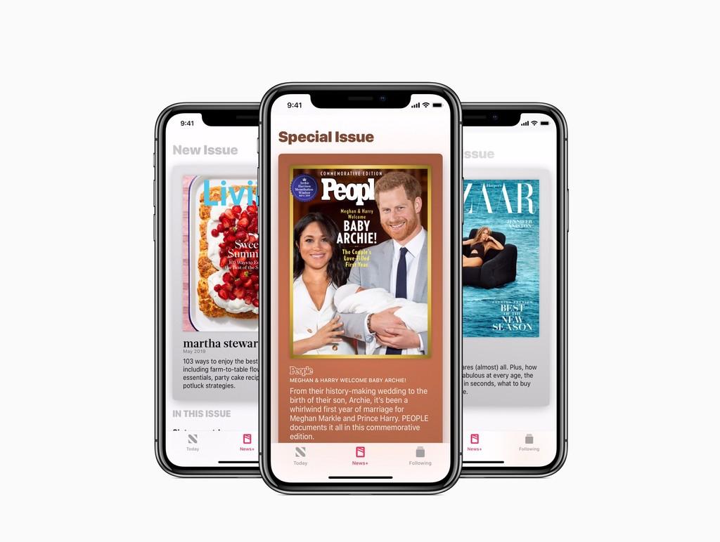 """Apple destaca las opiniones de los medios sobre Apple™ News+ y garantizara que tiene a """"cientos de personas"""" laburando en el servicio"""