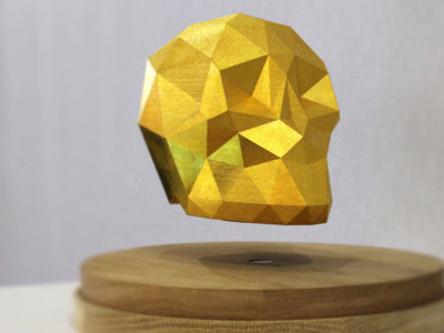 Aún no nos familiarizamos con la impresión 3D y ya llega la nueva impresión 3D de levitación