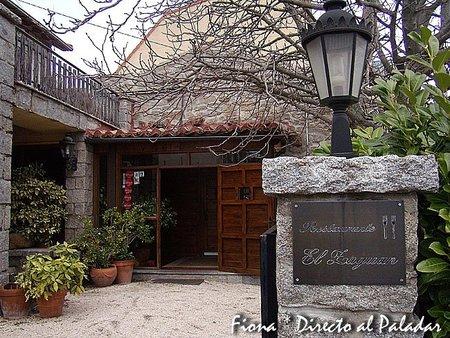 Restaurante El Zaguán, cocina catalana en Becerril de la Sierra, Madrid