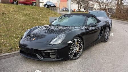 Porsche Boxster ¿GTS?, al descubierto en Alemania