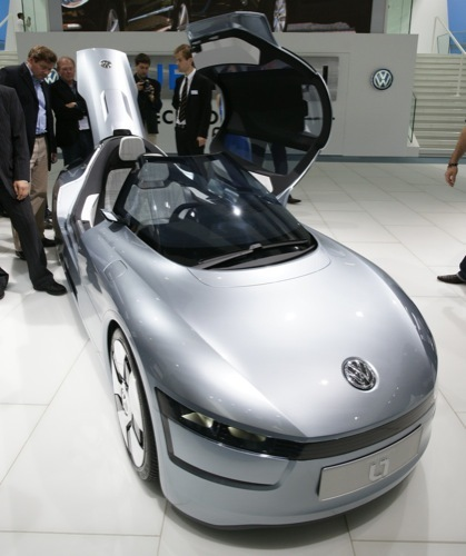 Volskwagen L1 Concept en el Salón de Fráncfort