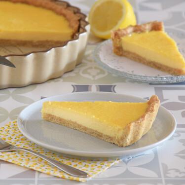 Tarta fría de limón: receta de postre cremoso y refrescante, para amantes de los cítricos