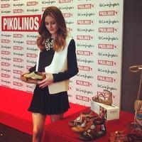 Aunque le cueste reconocerlo, a Olivia Palermo le gusta más España que a un tonto un lápiz