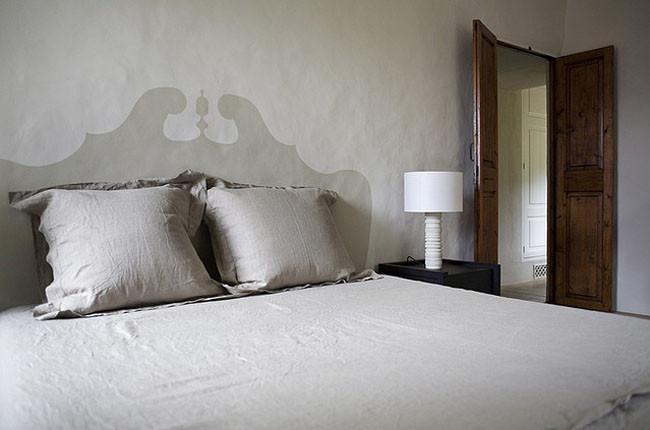 Hazlo t mismo un cabecero barroco pintado en la pared - Cabeceros pintados ...