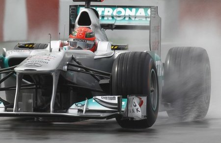 Michael Schumacher Canadá 2011