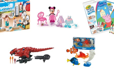 5 juguetes rebajados en Amazon de Playmobil, Peppa Pig, Power Rangers o Dory