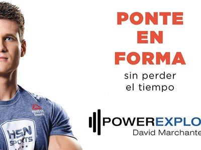 Ponte en forma sin perder tiempo: el nuevo libro de PowerExplosive