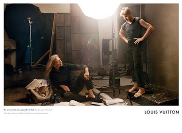 Annie Leibovitz frente a la lente para Louis Vuitton Core Values