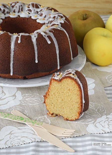 Bundt Cake De Pure De Manzana Y Limon