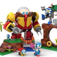 Sonic es el protagonista de un nuevo set de LEGO que homenajea la mítica Green Hill Zone