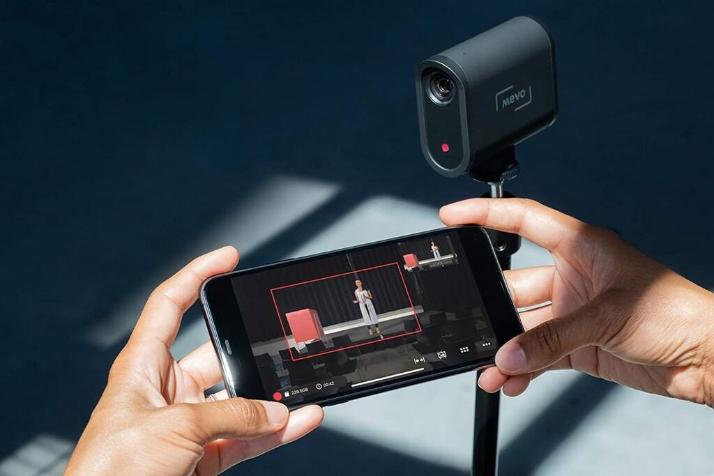 Mevo Start, una cámara de video en streaming con una autonomía brutal, por 60 euros menos hoy en eBay