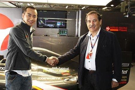 Sakon Yamamoto será el tercer piloto de Hispania Racing F1 Team