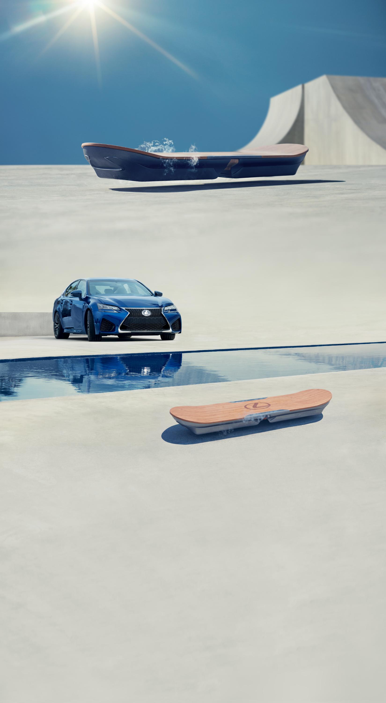 Adesivo De Hoverboard ~ Lexus Hoverboard (22 22)