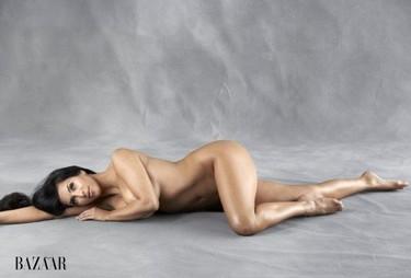 Kim Kardashian completamente desnuda para Harper's Bazaar: no al Photoshop