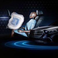 El Mercedes-Benz Clase S 2021 contará con bolsas de aire frontales para pasajeros del asiento trasero