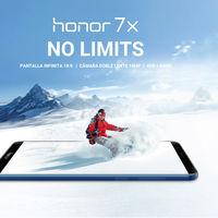 Huawei Honor 7X, en versión global, por sólo 160 euros y envío gratis