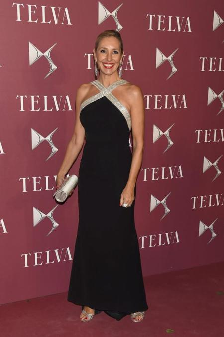 Marta Robles en la gala de premios T de Telva 2014