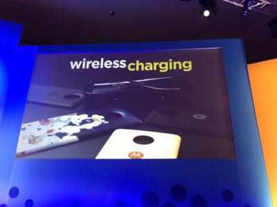 Carga inalámbrica, más batería y hasta un gamepad, estos son los nuevos Moto Mods para el Moto Z