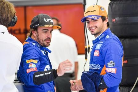 Fernando Alonso Carlos Sainz Mclaren Formula1