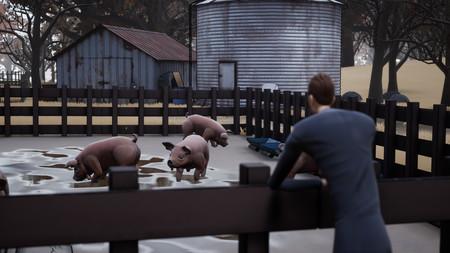 En este juego escondes cuerpos para la mafia dándoselos de comer a tus cerdos. Ahora has decidido que no volverás a hacerlo