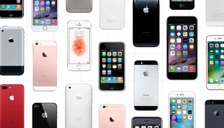 Así son los 15 teléfonos que ha creado Apple antes de llegar al iPhone del décimo aniversario