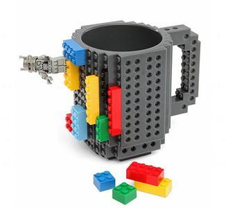Taza de Lego para desayunar y jugar con bloques