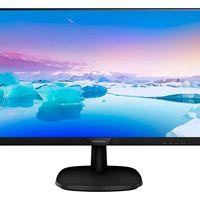 Ahórrate un buen dinero con un monitor de trabajo de 27 pulgadas como el Philips 273V7QDAB hoy, en los PcDays de PcComponentes: lo tienes por sólo 119,99 euros