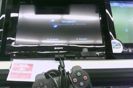 Imagen de la semana: la tele con PS2 integrada