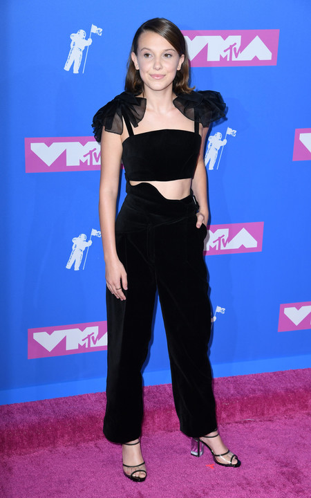 Alfombra Roja Mtv Video Music Awards 2018 Millie Bobby Brown Rosie Assoulin