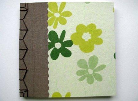 Cuadernos artesanales de Amapola Verde, una maravilla