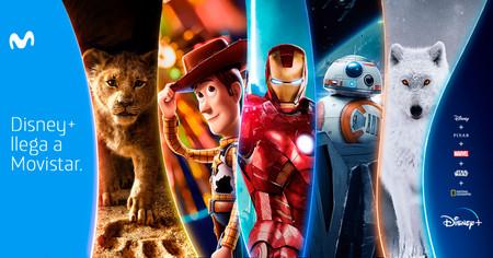 Disney+ estará incluido sin coste en Movistar Fusión Plus Ficción y Fusión Total: todos los precios