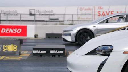 Lucid Air Porsche Taycan