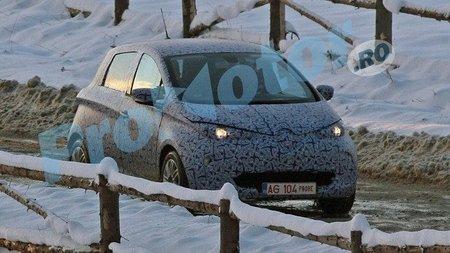 Primer avistamiento del Renault ZOE, en Rumanía