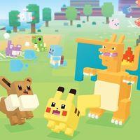 Pokémon Quest y su aventura con Pokémon en forma de cubo ya está disponible para descargar en iOS y Android