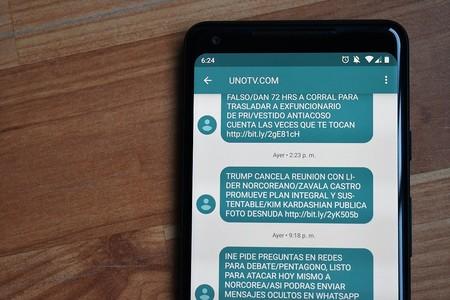 Cómo cancelar el servicio de noticias vía mensaje de texto de UnoTV en México