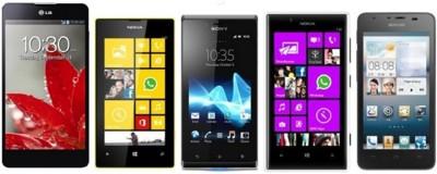 Precios LG Optimus G, Lumia 720, Lumia 520, Huawei G510 y Sony Xperia J con Vodafone