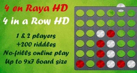 Cuatro en Raya HD, o cómo coger un juego clásico y hacerlo todavía más divertido