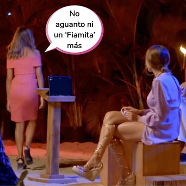 Lucía no aguanta más en 'La Isla de las Tentaciones 3': Se hace un Christofer y pide una hoguera de confrontación tras ver las imágenes de Manuel y Fiama