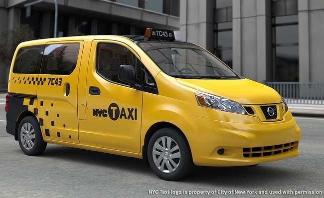 Taxi Nissan NV200 de Nueva York