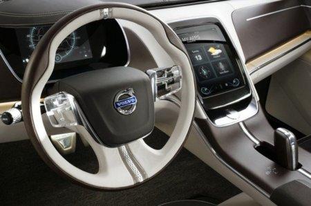 Volvo Concept You recurre a lo táctil