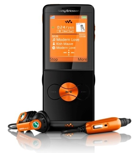 Sony Ericsson W350 en la web de Orange