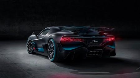 Bugatti Divo trasera