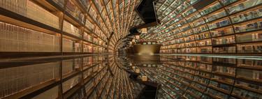 El túnel de los libros: la fantasiosa biblioteca china que te transporta a otra dimensión