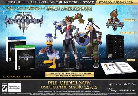 Kingdom Hearts 3 Edicion Coleccionista