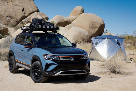 El Volkswagen Taos Basecamp Concept se viste de todoterreno como adelanto a futuros accesorios