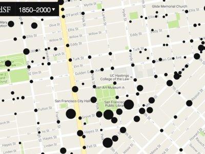 ¿Cómo se vería San Francisco en Street View en el s.XIX?