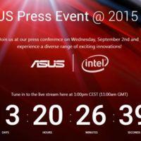 Asus calienta motores para el IFA 2015 con un nuevo vídeo